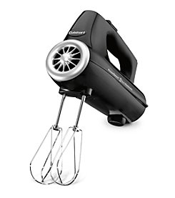 Cuisinart® PowerSelect™ 3-Speed Black Hand Mixer