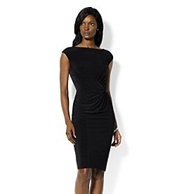 Lauren Ralph Lauren® Front Knot Jersey Dress