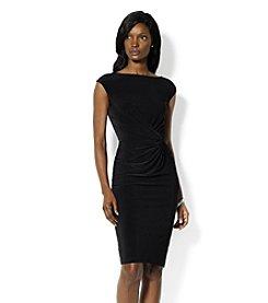 Lauren Ralph Lauren® Front Knot Jersey Dress