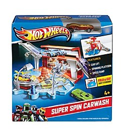 Mattel® Hot Wheels® Super Spin Carwash Track Set
