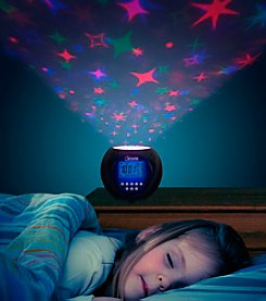 Northwest Stars Projector and Clock with Soothing Lullabies