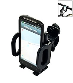 Trademark Global Mobile Phone Bracket with Adjustable Holder for Bicycles