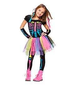Funky Punk Skeleton Child Costume