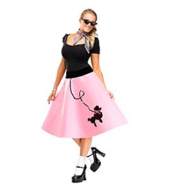 Poodle Skirt Adult Dress Costume