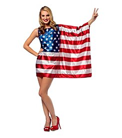 USA Flag Adult Dress Costume