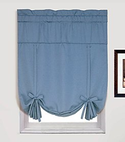 Metro Blue Tie-Up Shade by United Curtain Co.