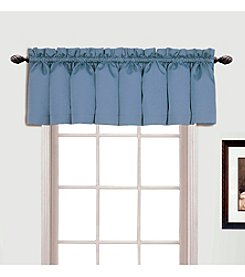United Curtain Co. Metro Blue Valance