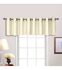 United Curtain Co. Hamden Grommet Valance