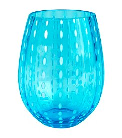 Artland® Cambria Turquoise Set of 4 Stemless Tumblers