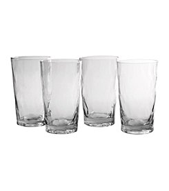 Artland® Ripple Set of 4 Highball Glasses
