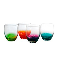 Artland® Fizzy Set of 4 Double Old Fashioned Glasses