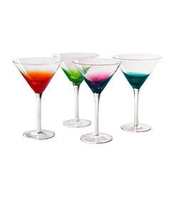 Artland® Fizzy Set of 4 Martini Glasses