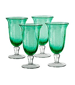 Artland® Savannah Green Set of 4 Goblets