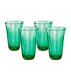 Artland® Savannah Green Set of 4 Highball Glasses