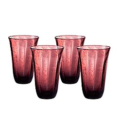 Artland® Savannah Purple Set of 4 Highball Glasses
