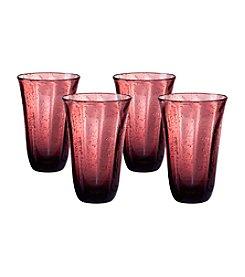 Artland® Savannah Purple Set of 4 Highball Glasses