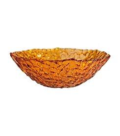 Artland® Dapple Amber Set of 4 Cereal Bowl