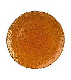 Artland® Dapple Amber Set of 4 Chargers