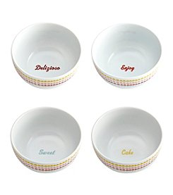 Cake Boss® Icing 4-pc. Ice Cream Bowl Set
