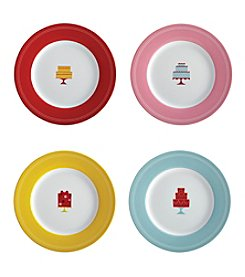 Cake Boss® Mini Cakes 4-pc. Dessert Plate Set
