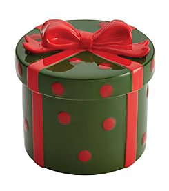 Cake Boss® Gift Green and Red Cookie Jar