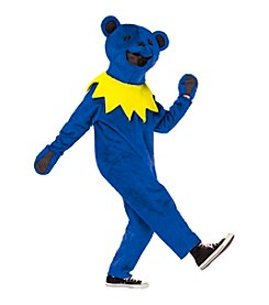 Grateful Dead Blue Dancing Bear Adult Costume