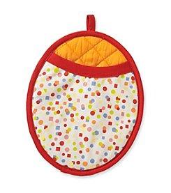 Fiesta® Confetti Neoprene Oval Pot Mitt