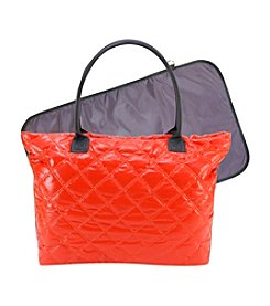 Trend Lab Orange/Grey Mod Carryall Tote