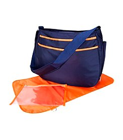 Trend Lab Navy/Orange Ultimate Hobo