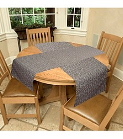 Tablemattes Sequence Reversible 2-pc. Table Linen Set