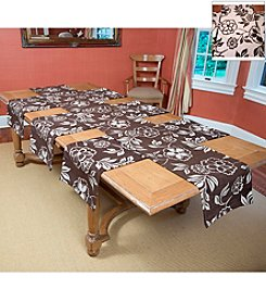 Tablemattes Botan Reversible 4-pc. Table Linen Set