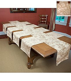 Tablemattes Botan Reversible 5-pc. Table Linen Set