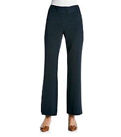 Rafaella® Navy Gab Curvy Fit Pant