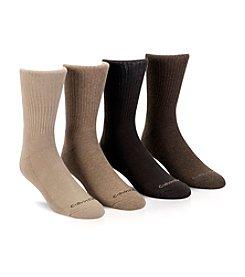 Calvin Klein Men's 4-Pack Casual Crew Socks