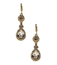Givenchy® Crystal Tear Drop Earrings