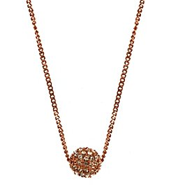 Givenchy® Rose Goldtone Pendant