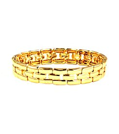 Anne Klein® Goldtone Stretch Bracelet