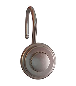 Elegant Home Fashions® Round with Bottle Cap Design Shower Hooks