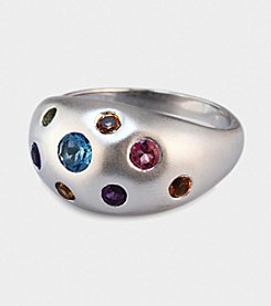 Effy® Balissima Sterling Ring with Amethyst, Blue Topaz, Citrine, Pink Tourmaline & Peridot