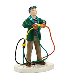 Department 56® National Lampoon's Christmas Vacation Fire It Up Dad Figurine