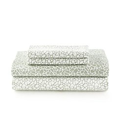 CASA by Victor Alfaro Sage Print Spa Sheet Set