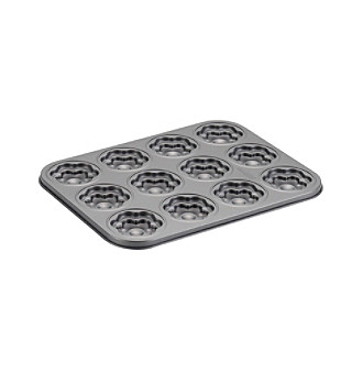 Cake Boss® Specialty Nonstick Bakeware 12-Cup Flower Molded Cookie Pan