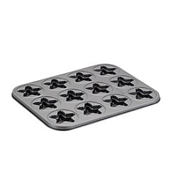 Cake Boss® Specialty Nonstick Bakeware 12-Cup Star Molded Cookie Pan