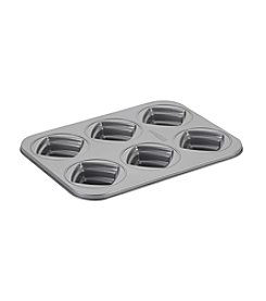 Cake Boss® Specialty Nonstick Bakeware 6-Cup Square Cakelette Pan