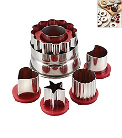 Cake Boss® Decorating Tools 6-pc. Red Classic Linzer Cookie Cutter Set