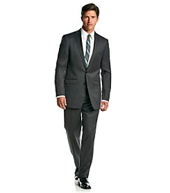 Calvin Klein Men's Charcoal Extreme Slim Fit 2-Piece Suit