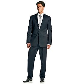 Calvin Klein Men's Navy Extreme Slim Fit 2-Piece Suit