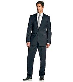 Calvin Klein Men's Navy Extreme Slim Fit 2-Piece Suit