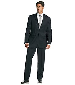 Calvin Klein Men's Navy Slim Fit 2-Piece Suit