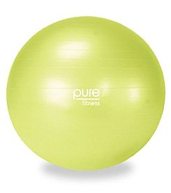Pure Fitness® 55-cm Exercise Ball with Pump